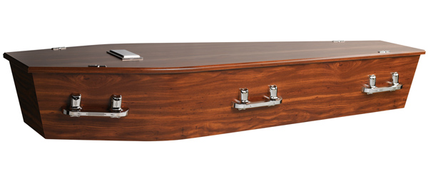 Hickory Coffin