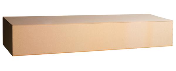 Liner Plain Box Rental Casket