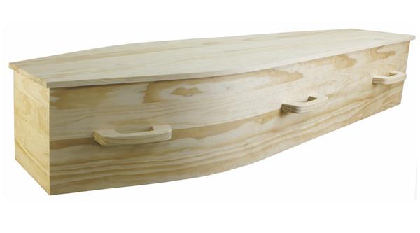 Woodhill Solid Pine Casket